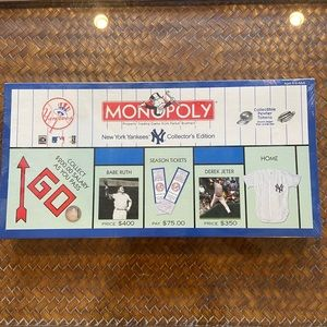 SPECIAL EDITION NY YANKEES MONOPOLY. BRAND NEW.